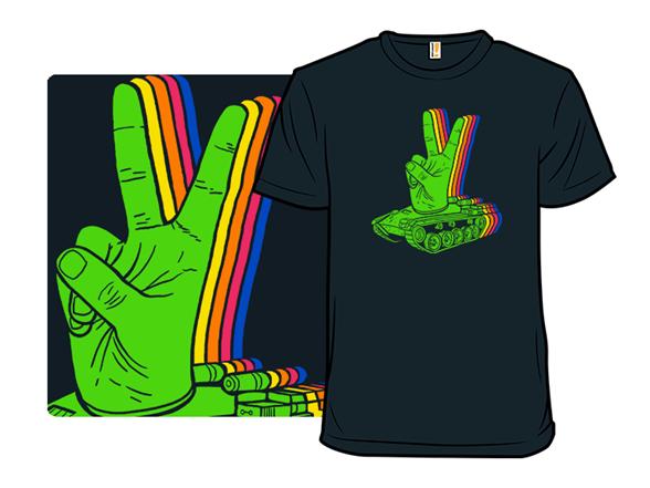 Peaceful Artillery T Shirt