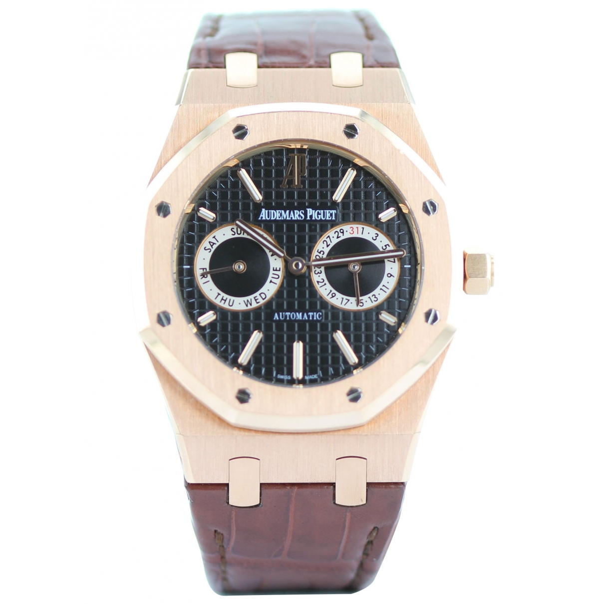 Audemars Piguet Royal Oak  Khaki Yellow gold watch for Men \N