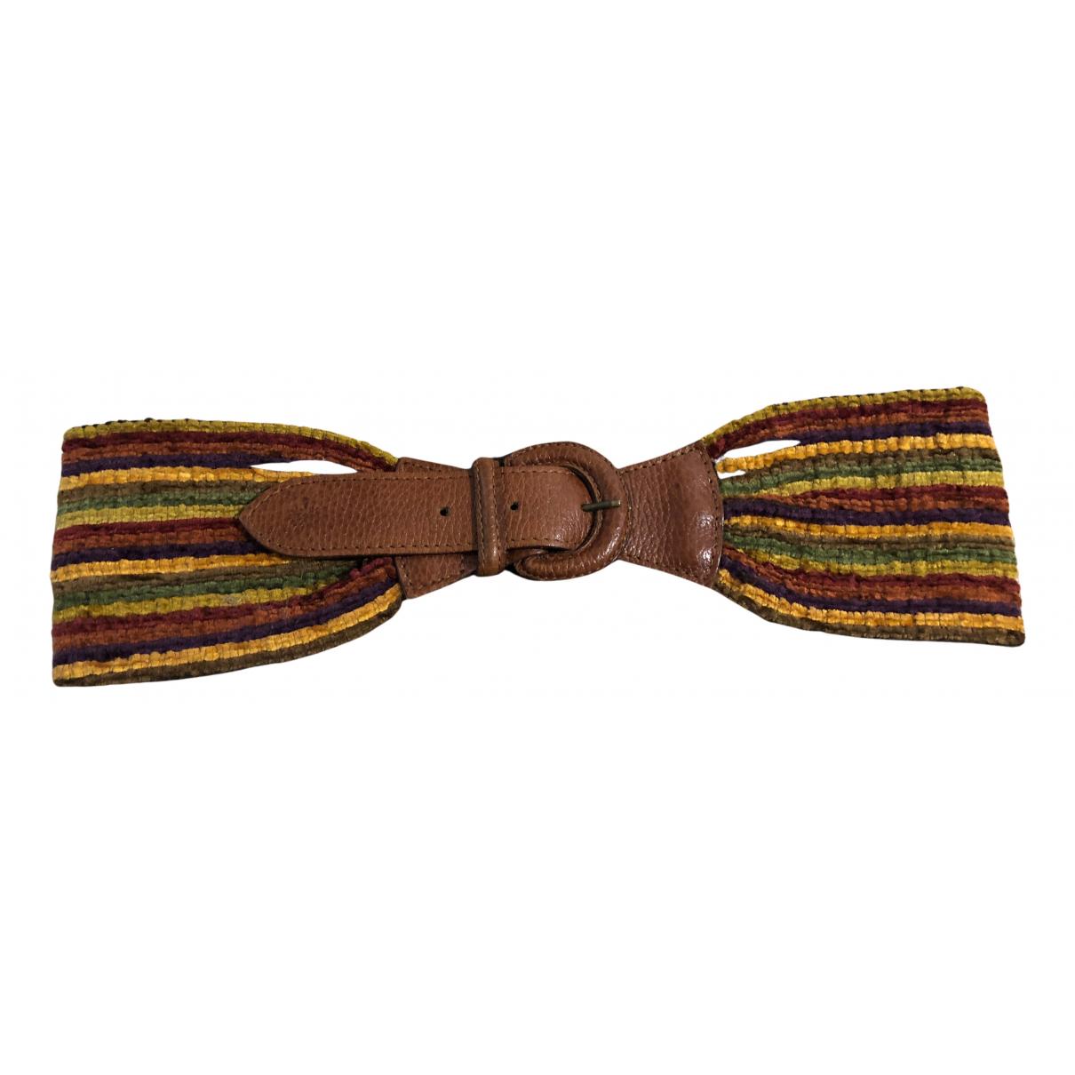 Mulberry N Multicolour Cloth belt for Women 70 cm