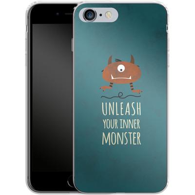 Apple iPhone 6 Plus Silikon Handyhuelle - Unleash Your Inner Monster von Statements