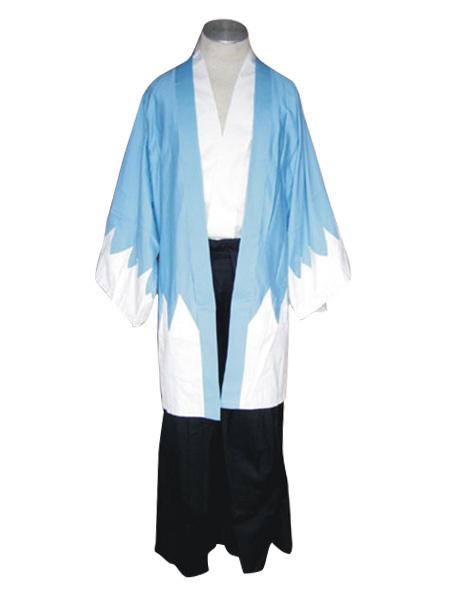 Milanoo Sky Blue Shinsengumi Cosplay Costume Halloween