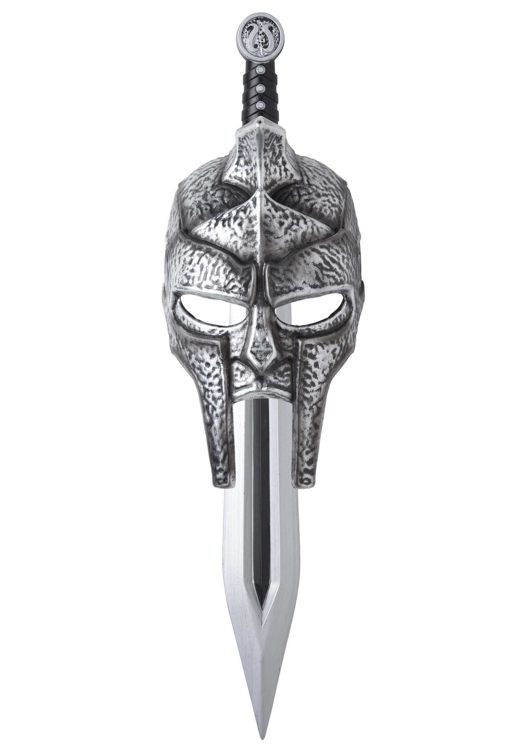 Gladiator Mask and Sword for Kids