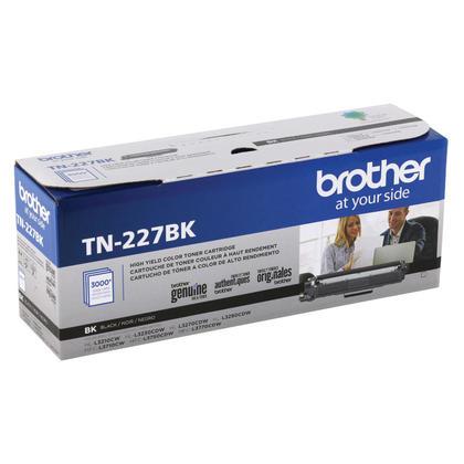 Brother TN227BK cartouche de toner originale noire haute capacité