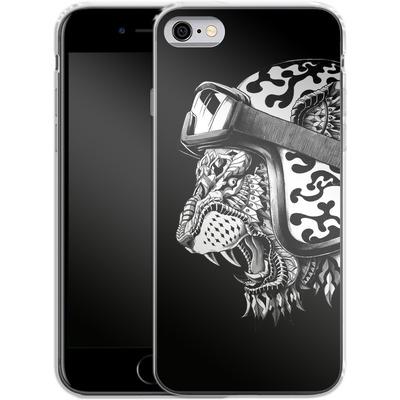 Apple iPhone 6s Silikon Handyhuelle - Tiger Helm von BIOWORKZ