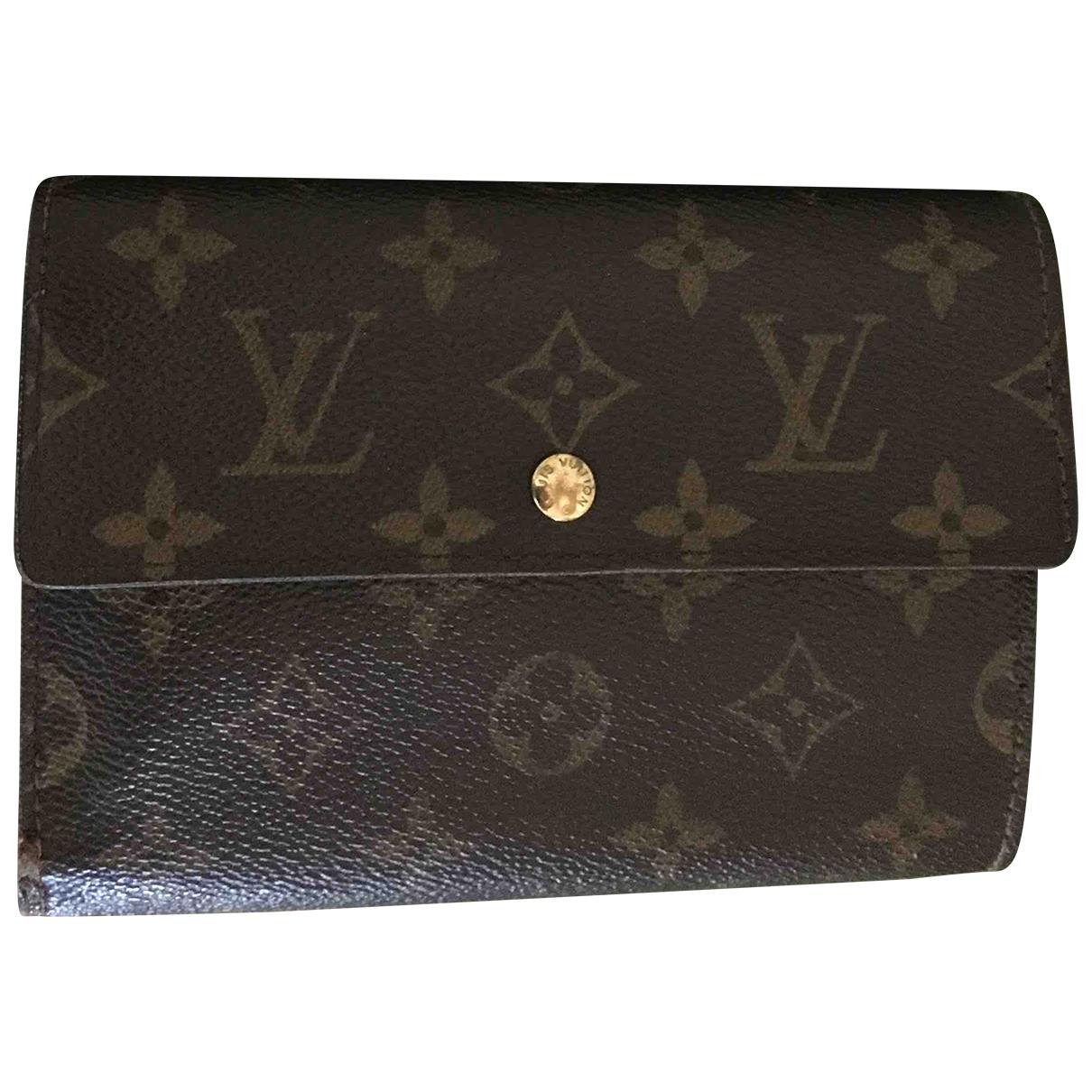 Louis Vuitton Virtuose Brown Cloth wallet for Women \N