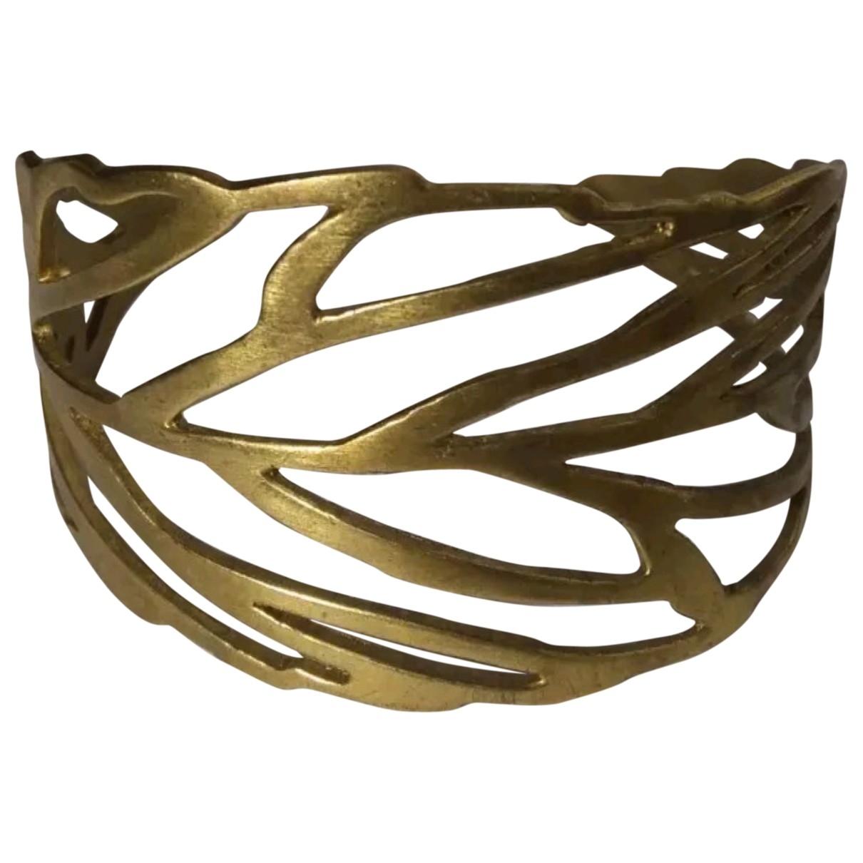 Furla - Bracelet   pour femme en metal - dore