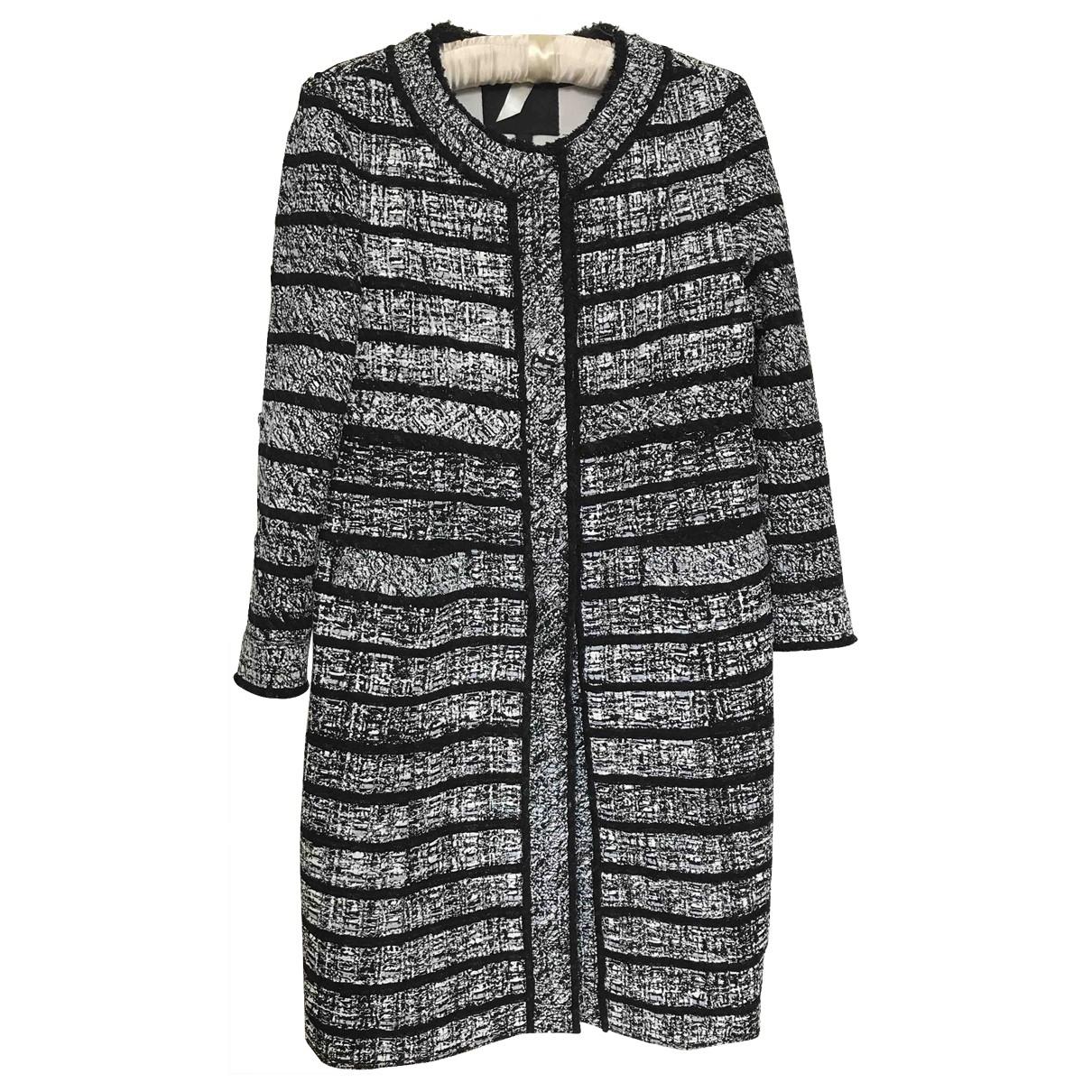 Marc Jacobs \N Maentel in  Schwarz Wolle