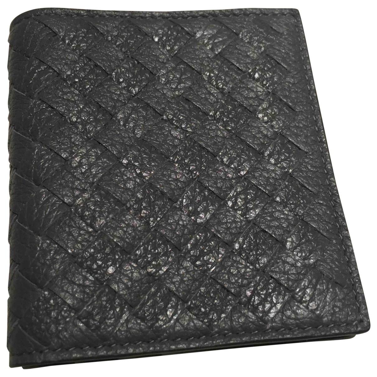 Bottega Veneta - Petite maroquinerie   pour femme en cuir - gris