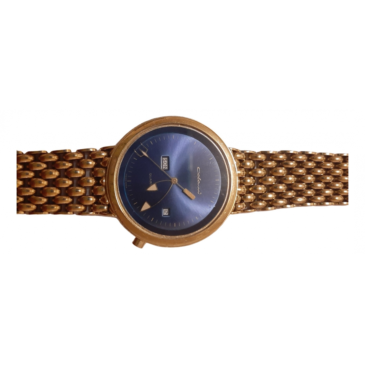 Non Signe / Unsigned \N Uhr in  Gold Gelbgold