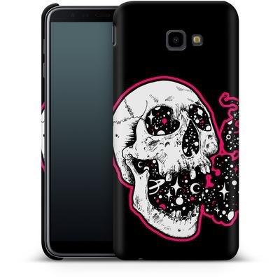 Samsung Galaxy J4 Plus Smartphone Huelle - Space Skull Black von Kreatyves