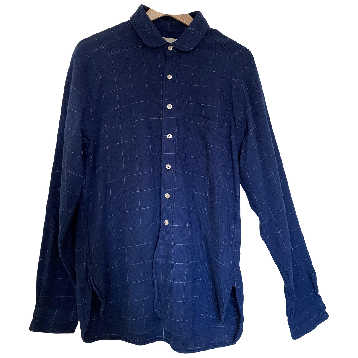Bellerose - Chemises   pour homme en coton - bleu
