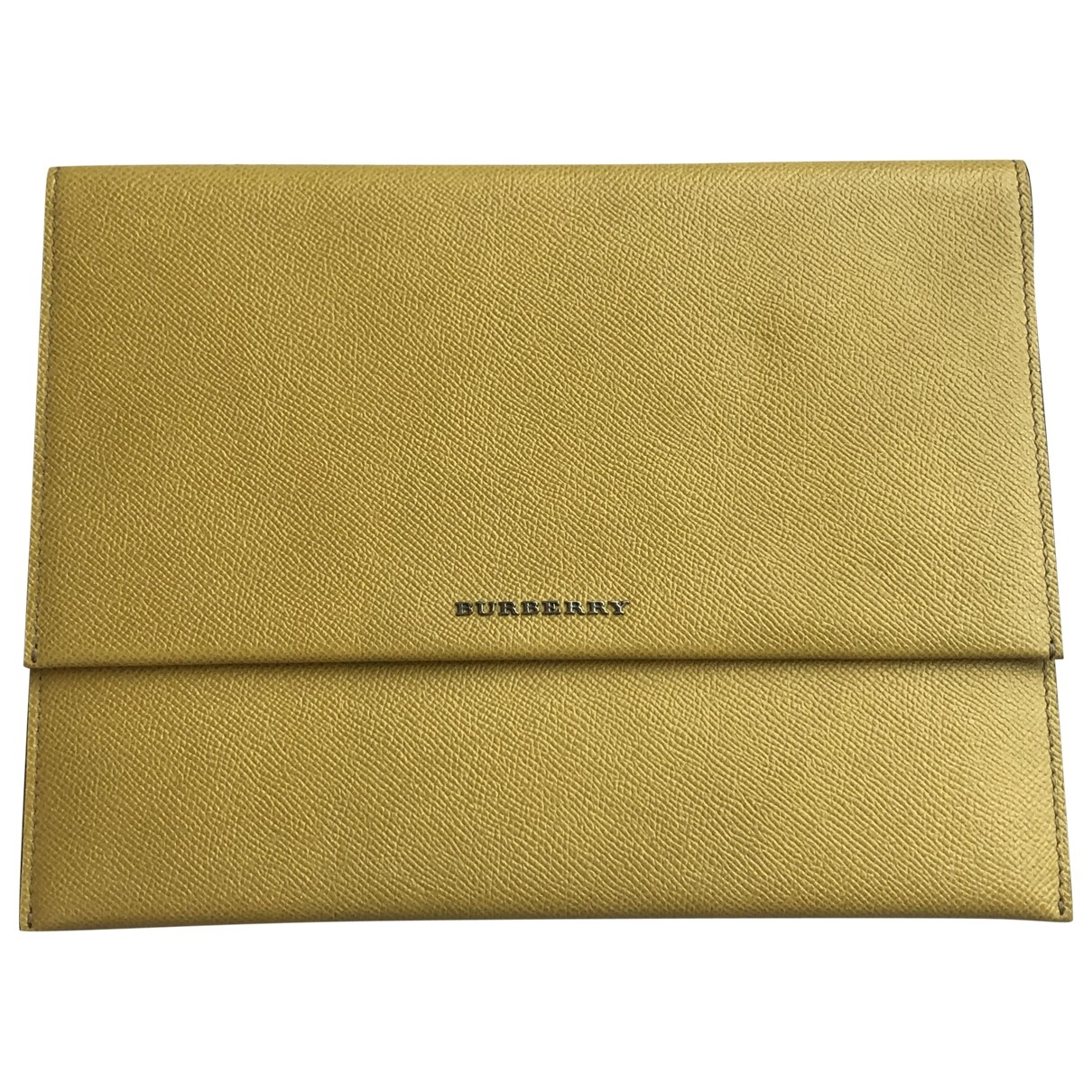Funda ipad de Cuero Burberry