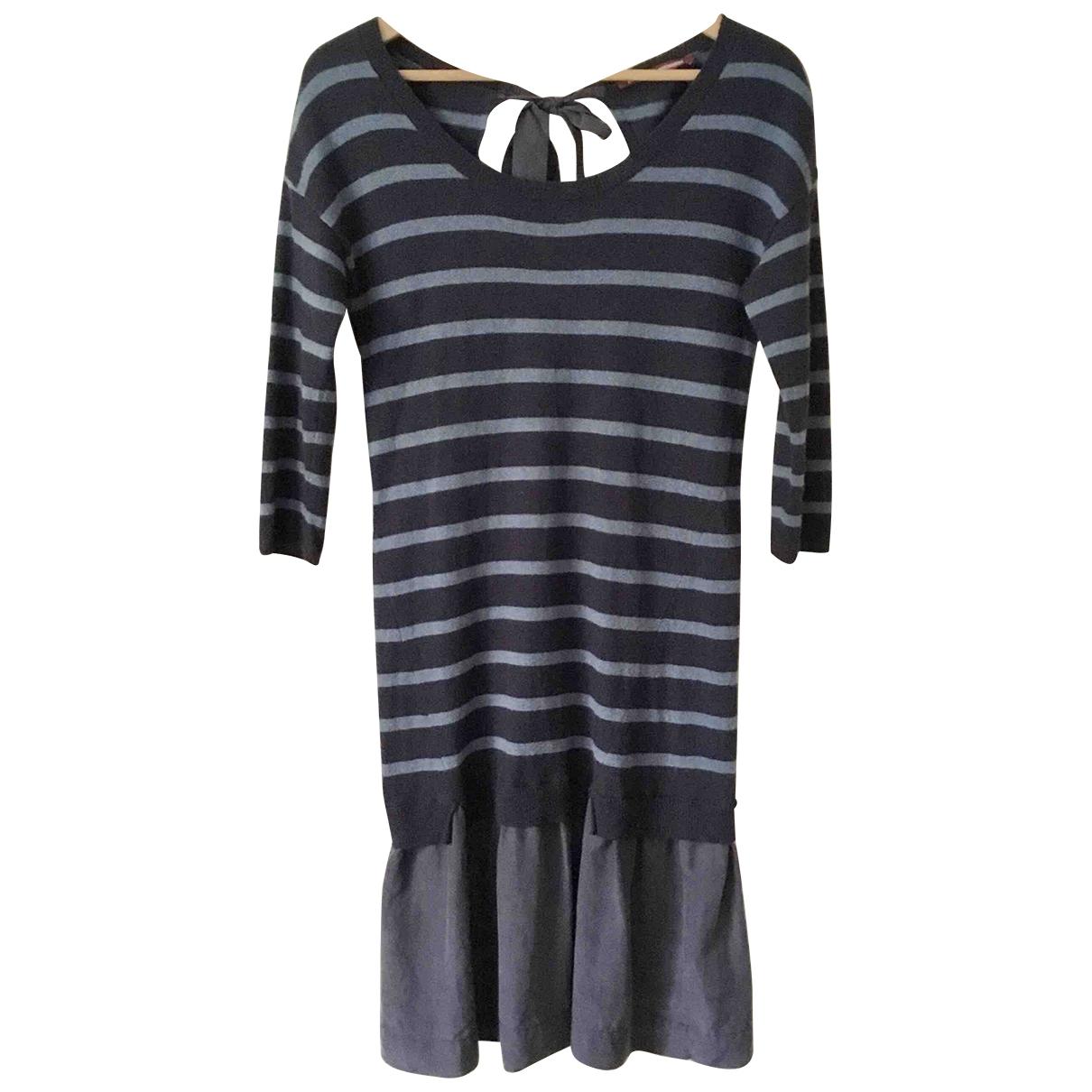 Comptoir Des Cotonniers \N Kleid in  Blau Wolle