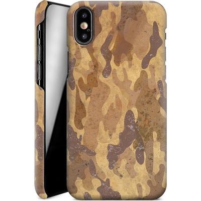 Apple iPhone X Smartphone Huelle - Camo Bark von caseable Designs