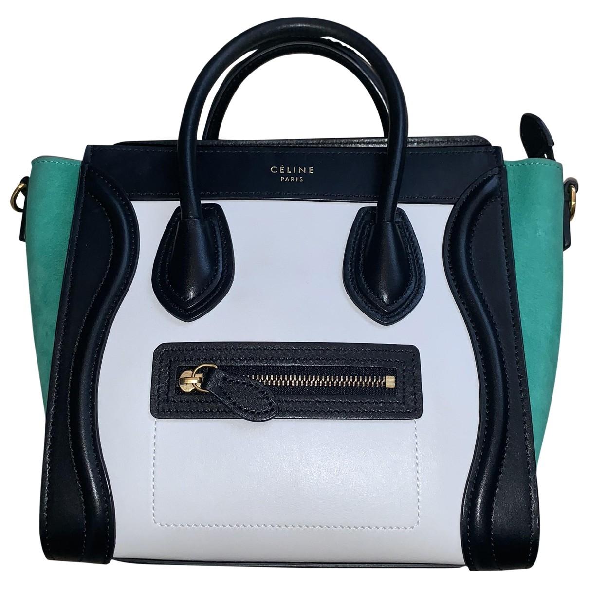 Celine Luggage Multicolour Leather handbag for Women \N