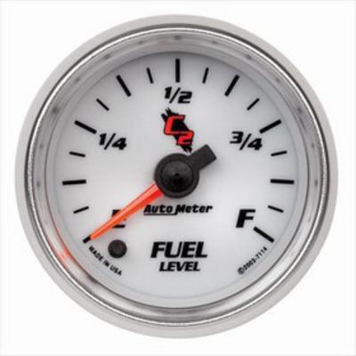 Auto Meter C2 Electric Programmable Fuel Level Gauge - 7114