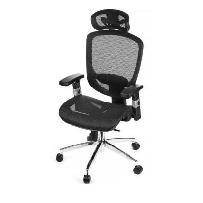 Chaise Ergonomique en mailles pour le bureau et la maison - Moustache marque, siege en suspension, hauteur ajustable et soutien lombaire