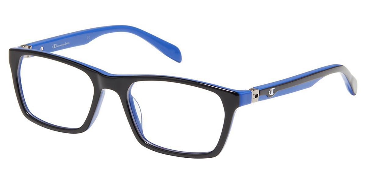Champion GORDI C01 Mens Glasses Black Size 51 - Free Lenses - HSA/FSA Insurance - Blue Light Block Available
