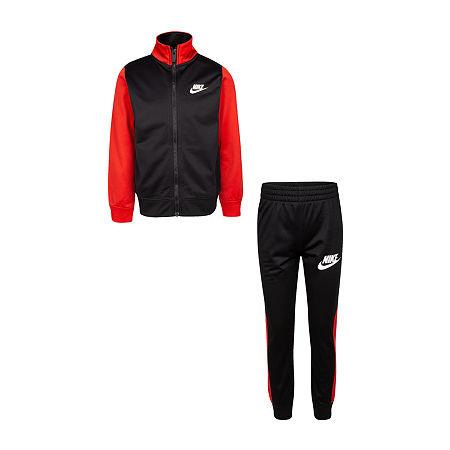 Nike Little & Big Boys 2-pc. Track Suit, 7 , Black
