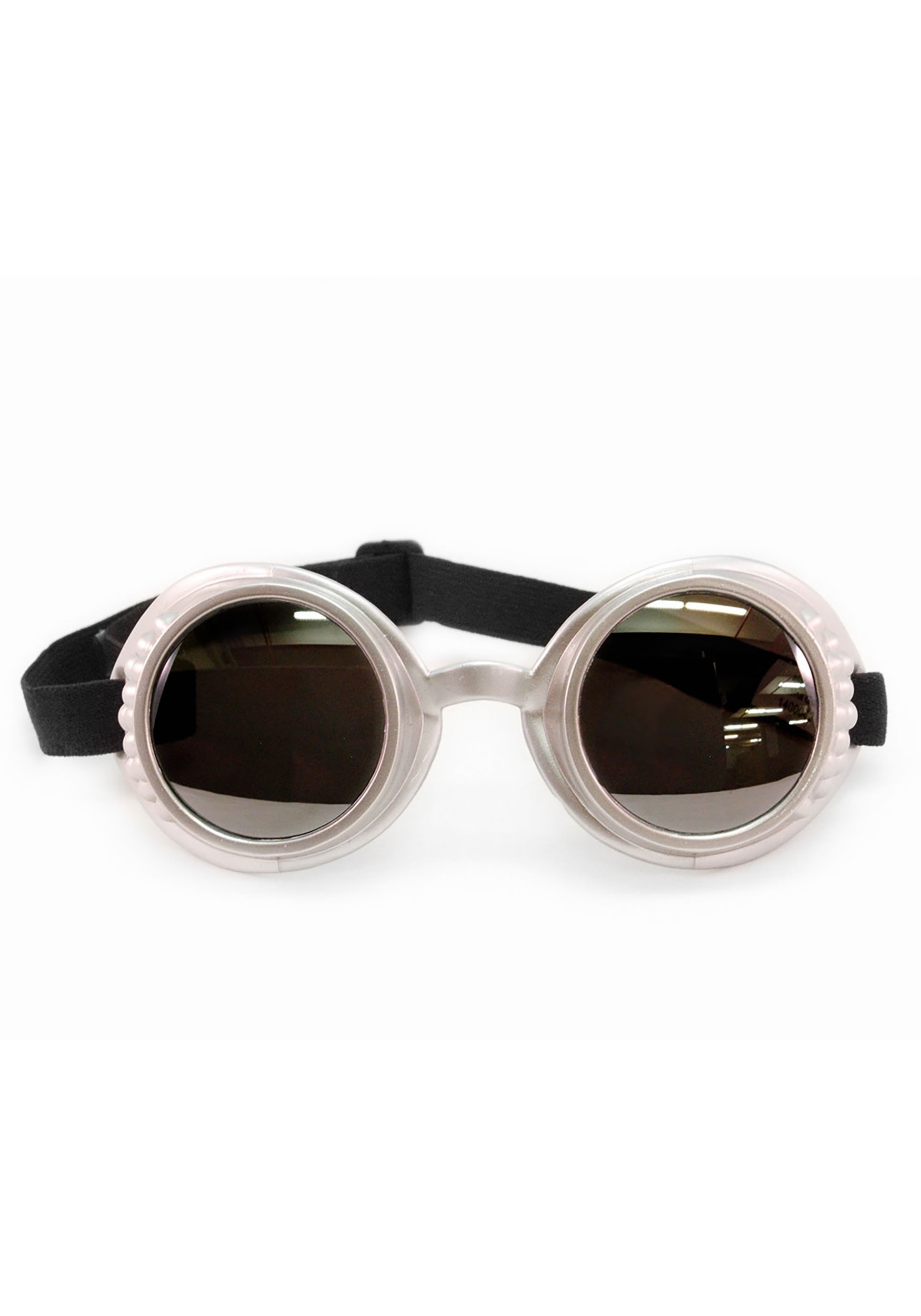 Silver/Mirror Atomic Ray Goggles