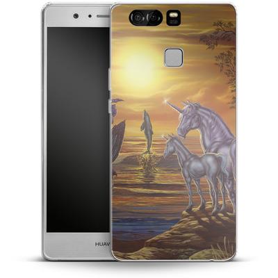 Huawei P9 Silikon Handyhuelle - Ed Beard Jr - Mystical Occurance von TATE and CO