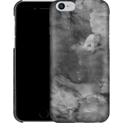 Apple iPhone 6s Plus Smartphone Huelle - Black Watercolor von Emanuela Carratoni