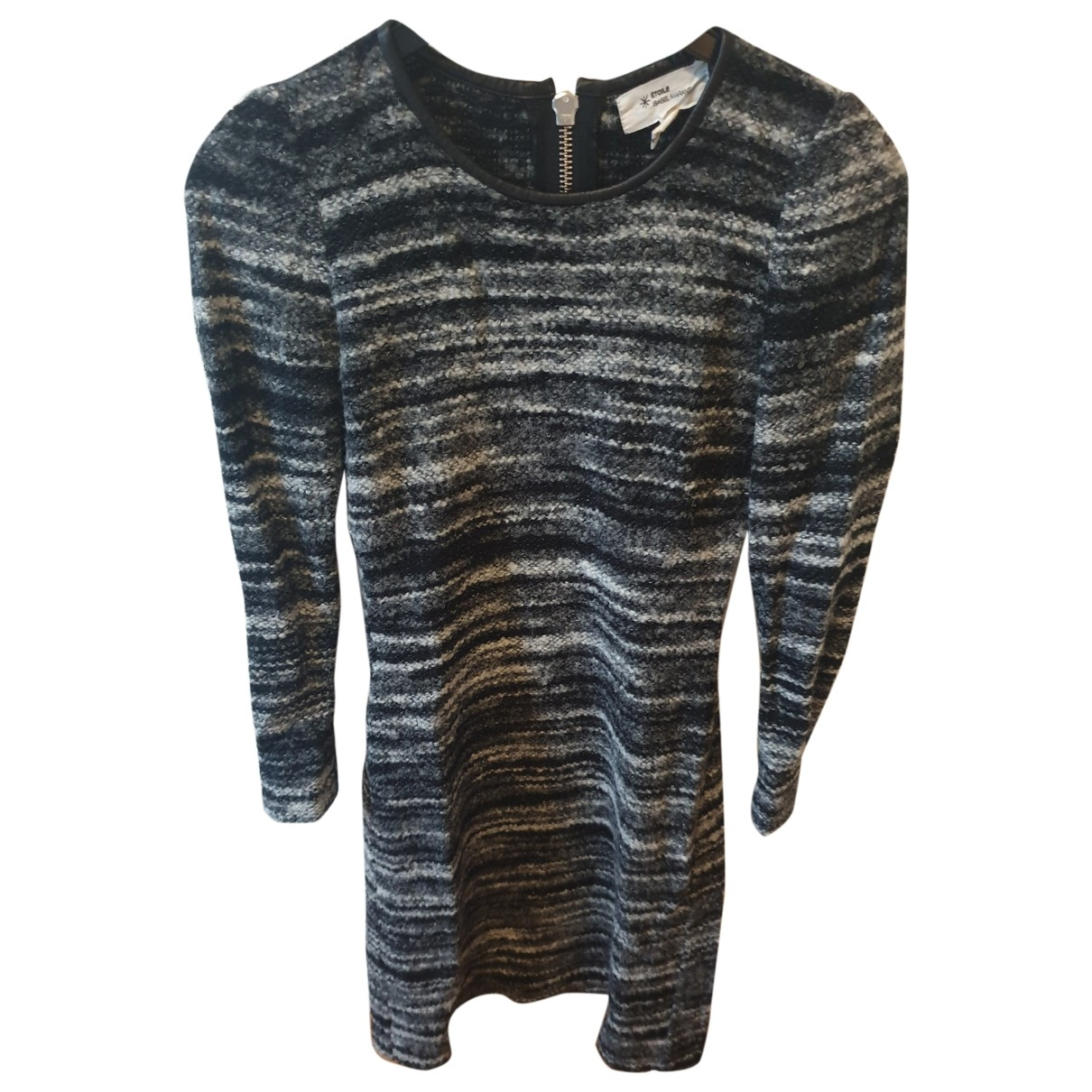 Isabel Marant Etoile \N Grey Wool dress for Women 1 0-5