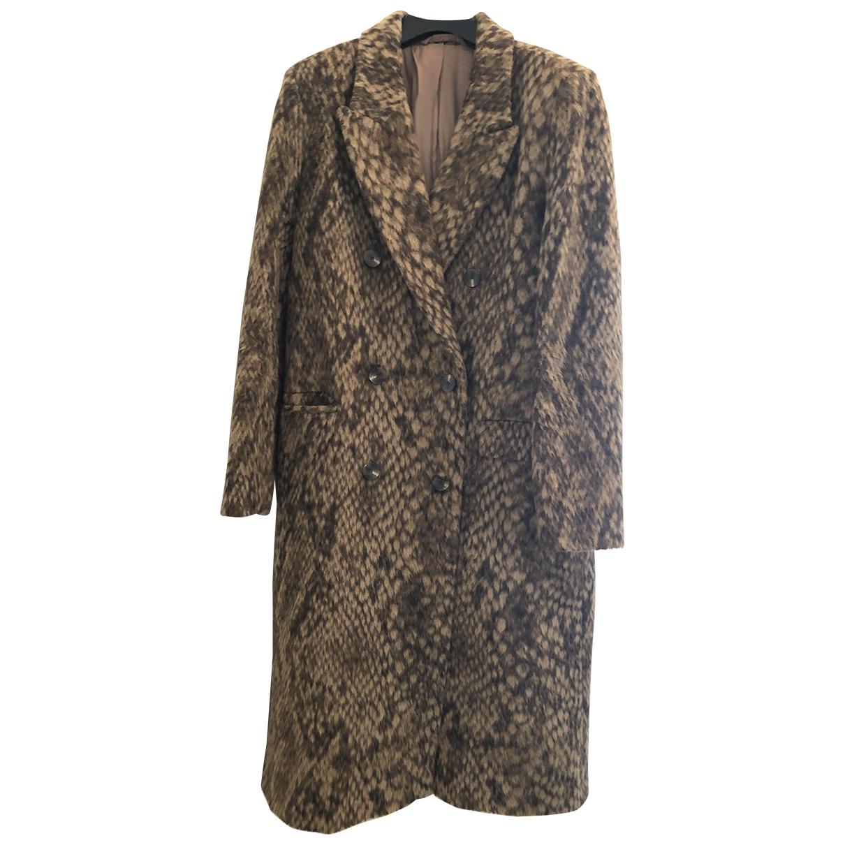 & Other Stories - Manteau   pour femme en laine - camel