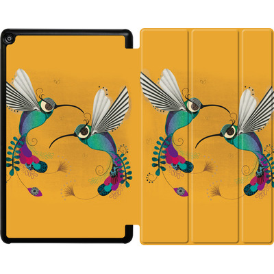 Amazon Fire HD 10 (2018) Tablet Smart Case - Hummingbirds von Victoria Topping