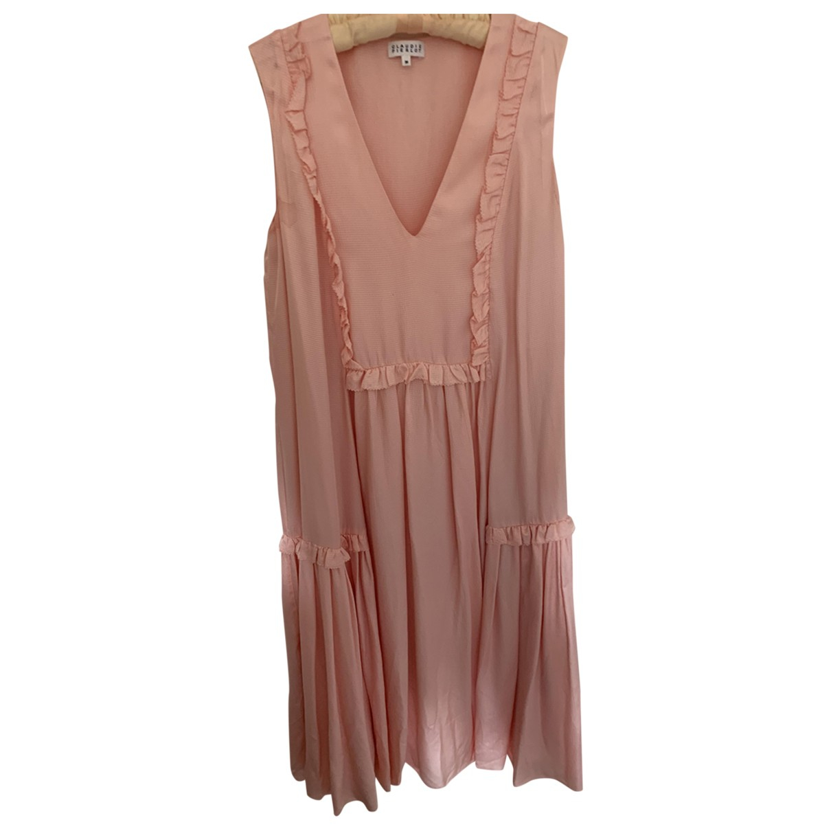 Claudie Pierlot \N Kleid in  Rosa Viskose