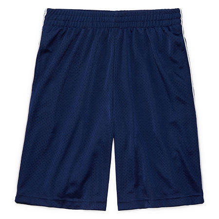 Xersion Mesh Short Little & Big Boys Husky Basketball Short, 18-20 Husky , Blue