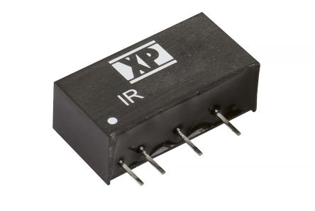 XP Power IR 3W Isolated DC-DC Converter Through Hole, Voltage in 10.8 ? 13.2 V dc, Voltage out 15V dc
