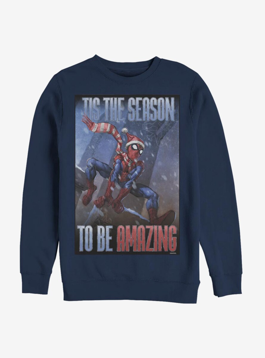 Marvel Spider-Man Amazing Season Spider Sweatshirt