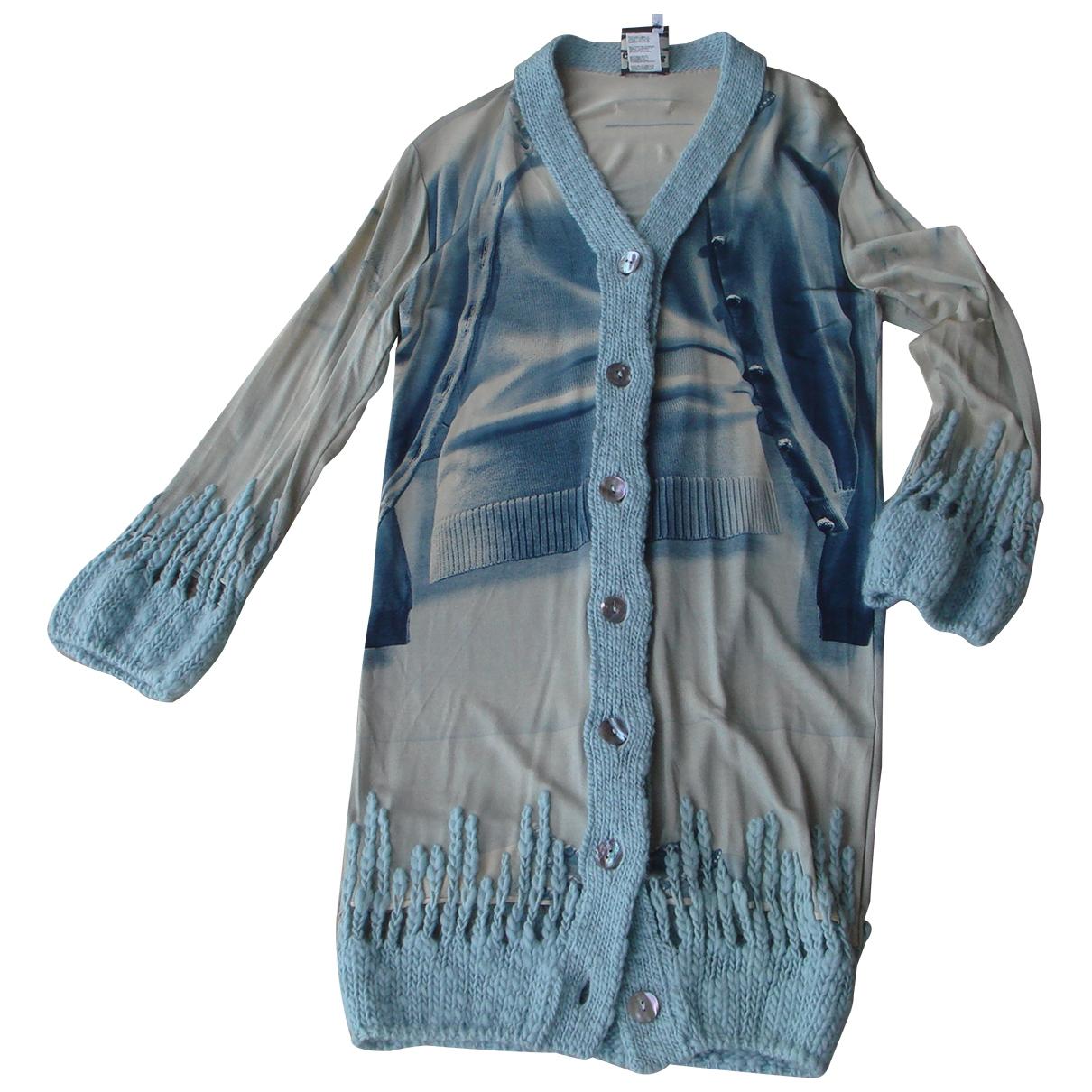 Jean Paul Gaultier - Pull   pour femme - bleu