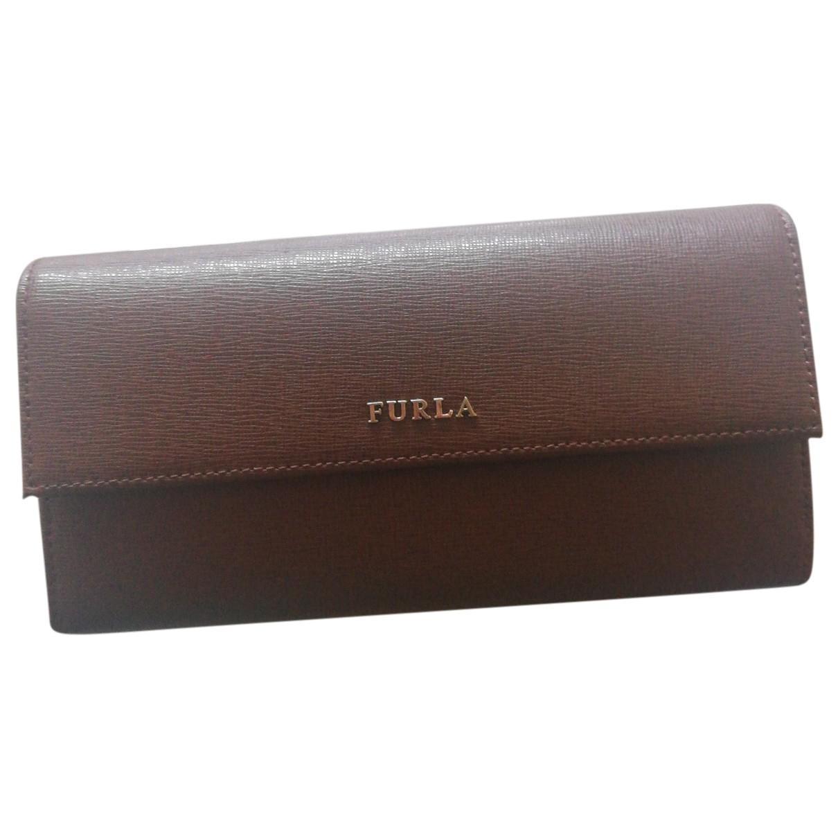 Furla \N Brown Leather wallet for Women \N