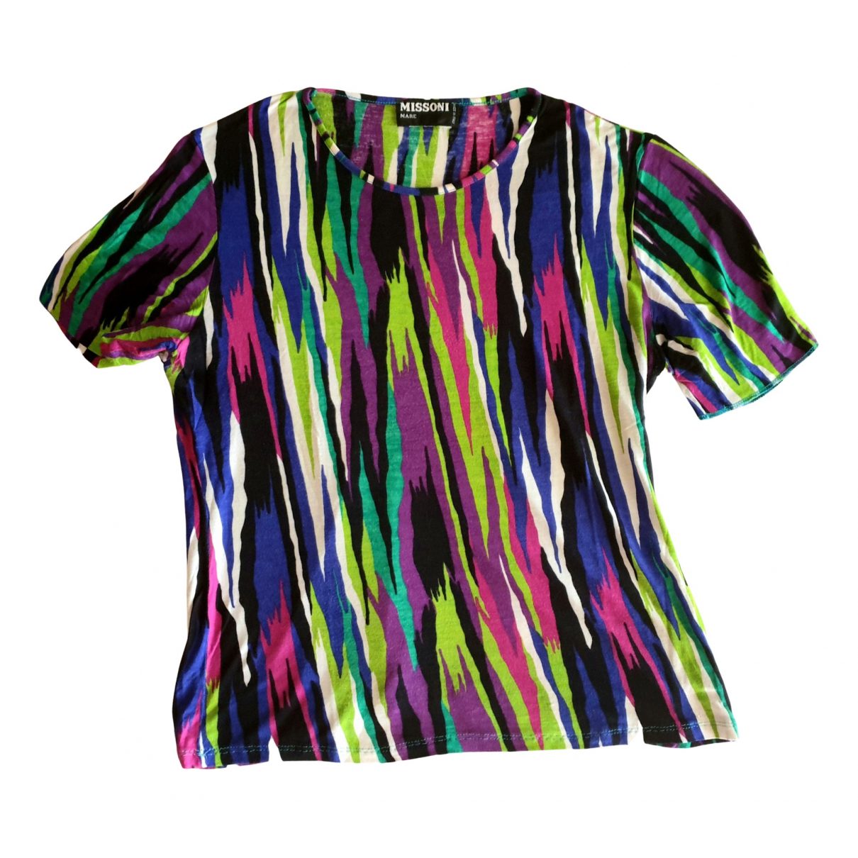 Missoni N Multicolour Cotton  top for Women 38 FR