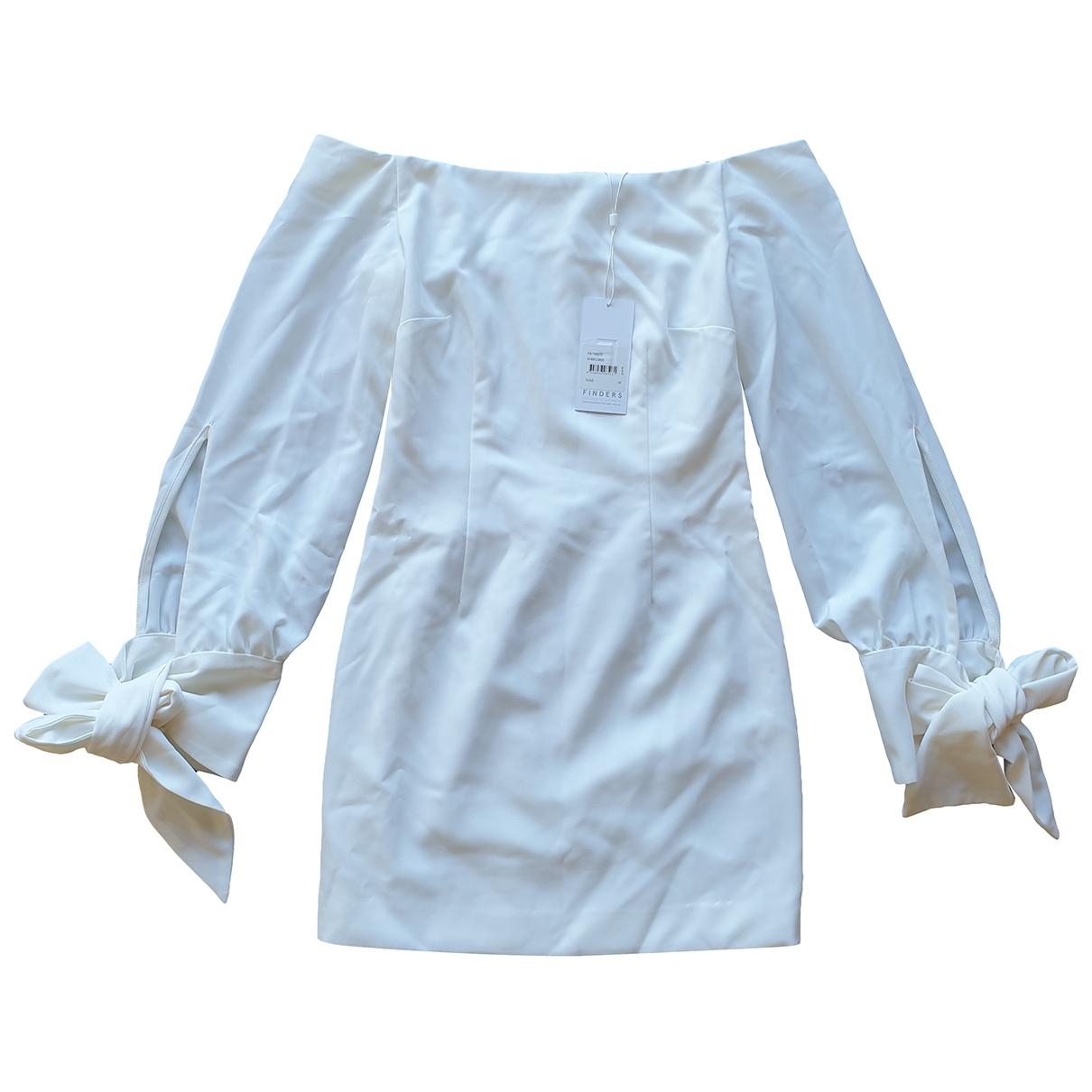 Finders Keepers \N Kleid in  Weiss Polyester