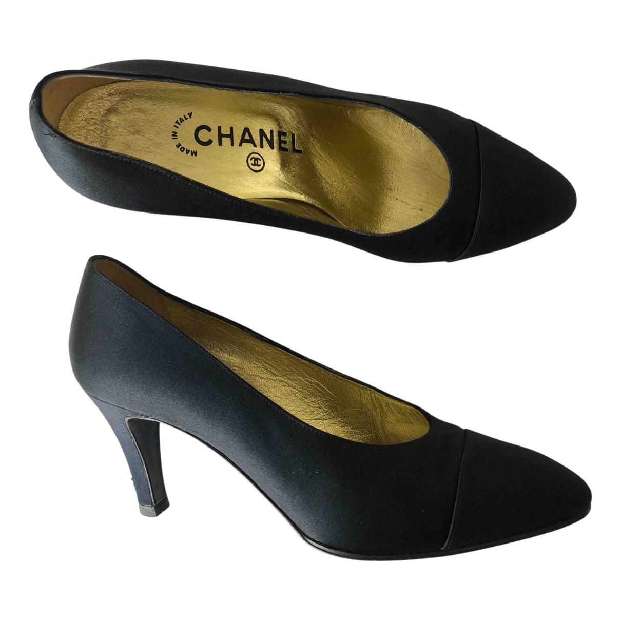 Tacones de Lona Chanel