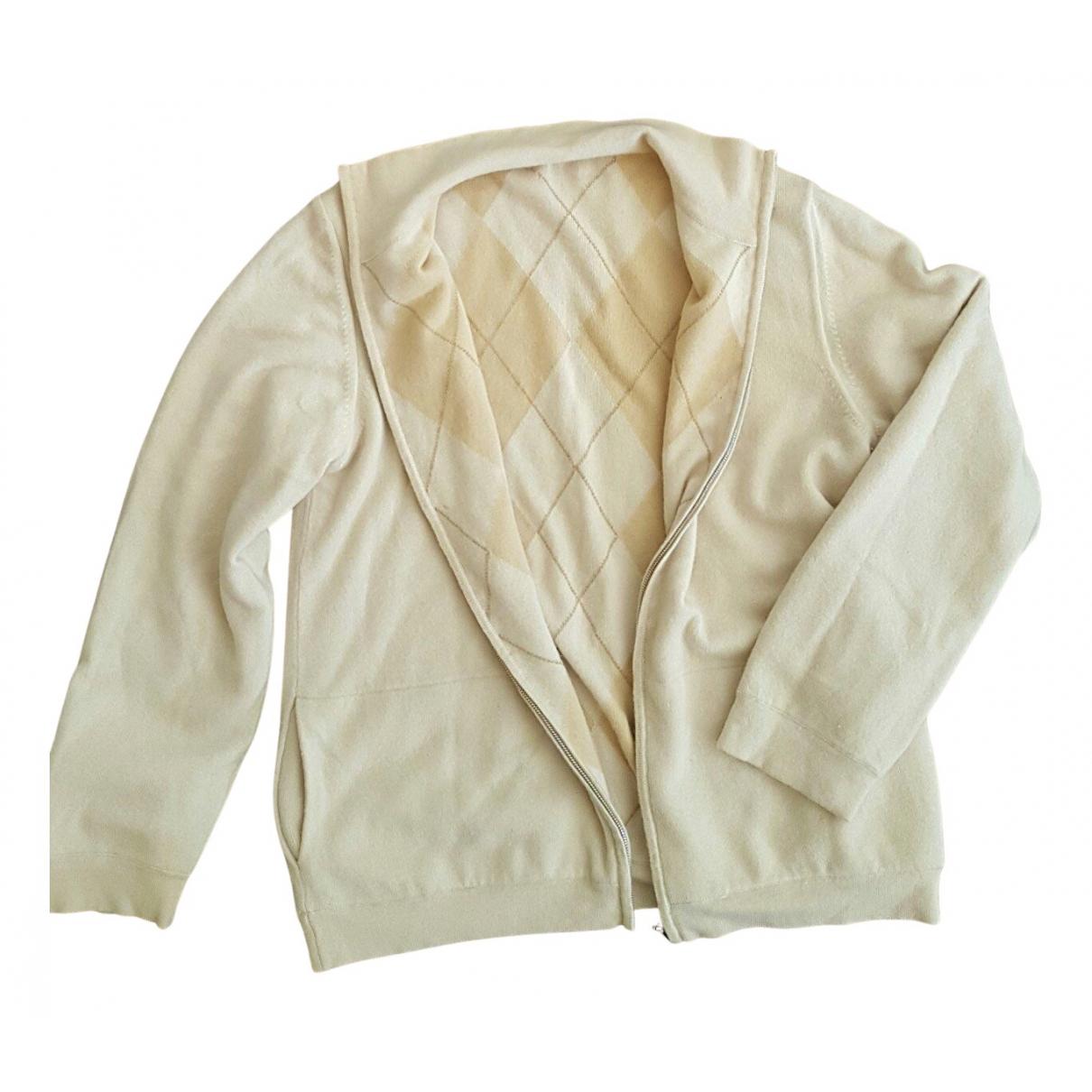 Malo - Pull   pour femme en cachemire - beige