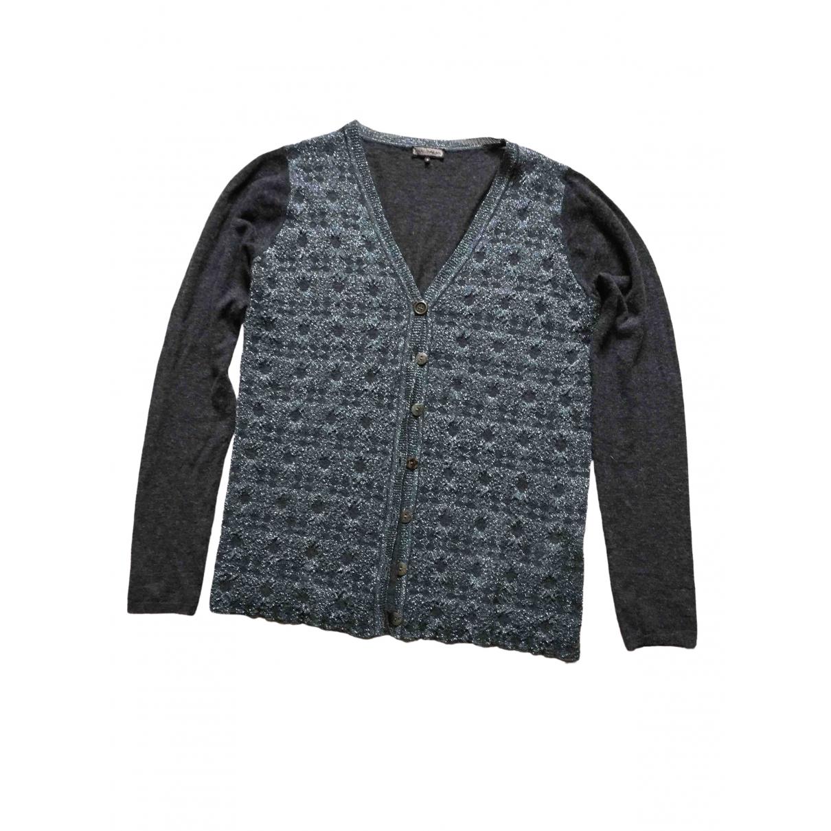 Maliparmi - Pull   pour femme en laine - gris