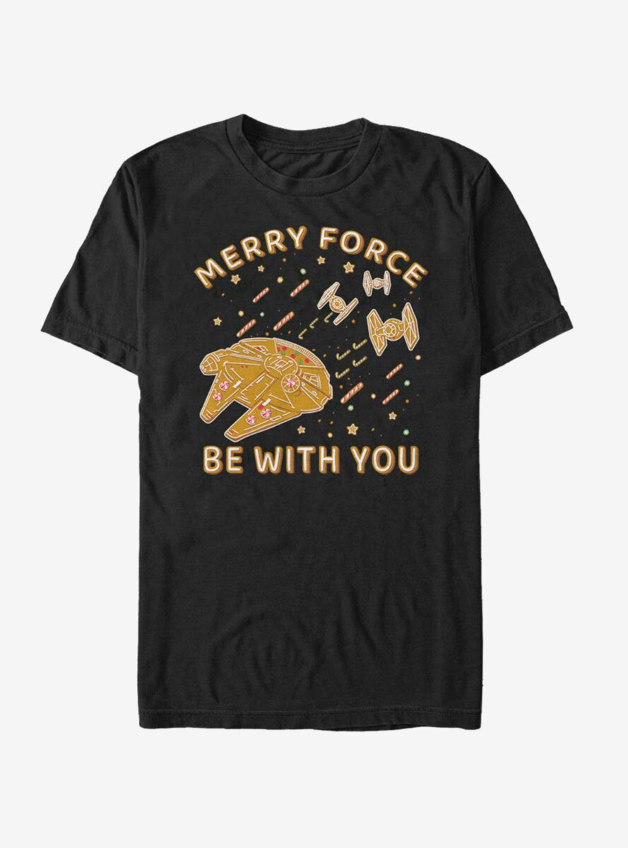 Star Wars Gingerbread Falcon T-Shirt