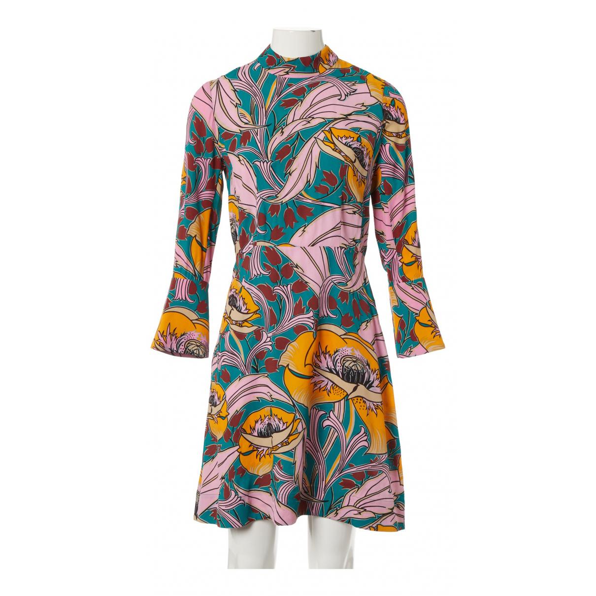 Marni \N Kleid in  Bunt Viskose