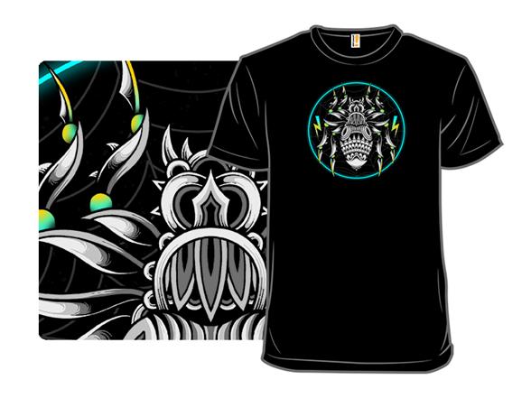Retrowave Spider T Shirt