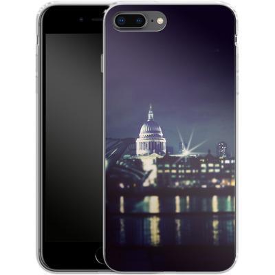 Apple iPhone 7 Plus Silikon Handyhuelle - Thames von Ronya Galka