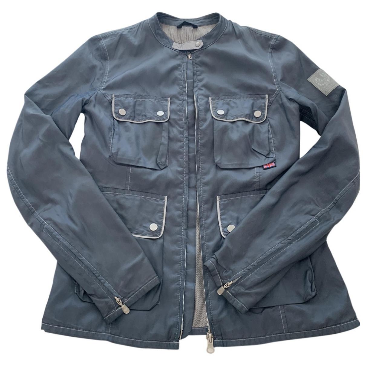Belstaff \N Jacke in  Blau Polyester
