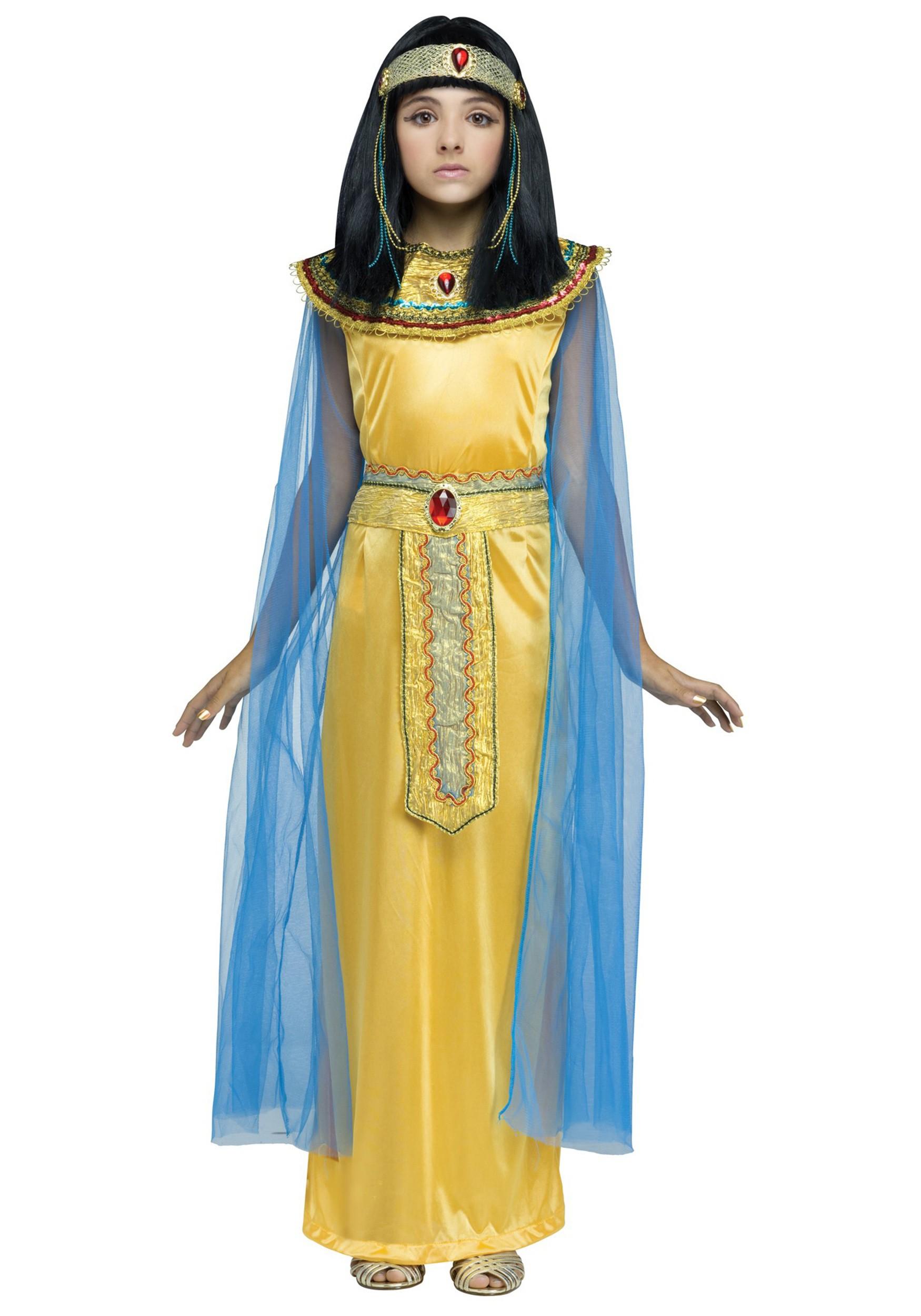 Golden Cleopatra Girls Costume