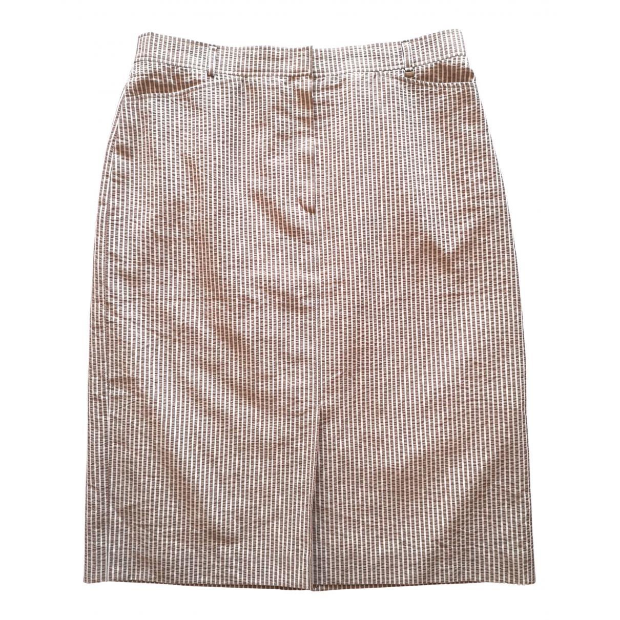 Bogner - Jupe   pour femme en coton - beige