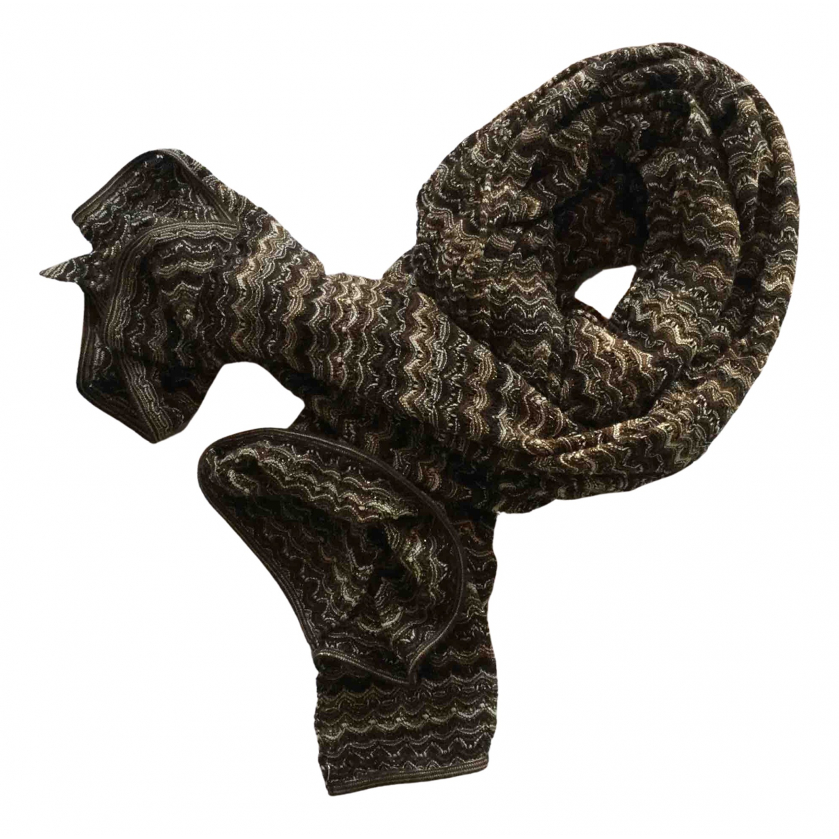 Missoni N Gold scarf for Women N
