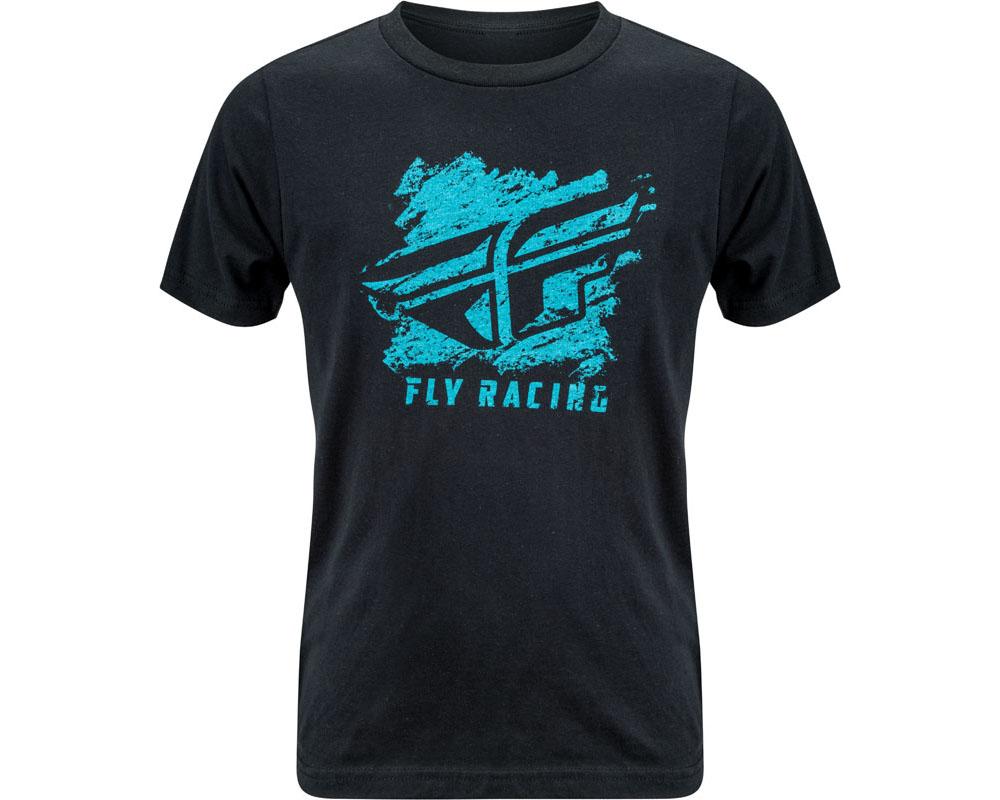 Fly Racing 352-1110YM Boy's Crayon Tee