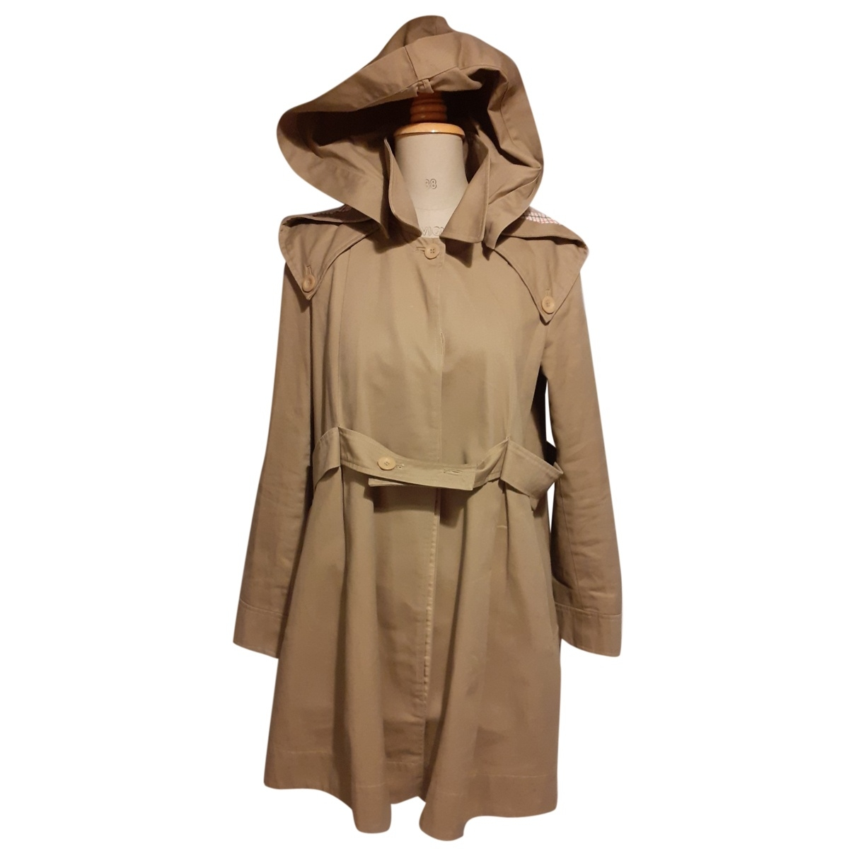 See By Chloé N Beige Cotton Trench coat for Women 38 FR